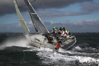 Azawakh, formerly Courier Vintage, will be racing this weekend in the Channel Race