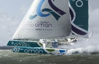 Musamdam-Oman Sail, skippered by Sidney Gavigney - Photo Lloydimages