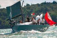 Salvo on her way to victory in the IRC National Championship - photo RORC/Paul Wyeth