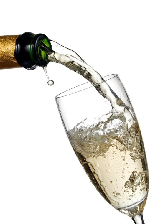 2013 pouring champers