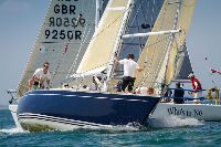 Winsome racing hard during the 2014 IRC National Championship - photo RORC/Paul Wyeth