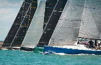 IRC One line up for the start - photo RORC/Paul Wyeth