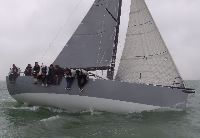 2015 Peter Mortons Salvo racing with the RORC Youth Team - photo Graham Nixon