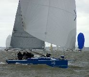 Tonnerre de Breskens at the start of the 2013 North Sea Race - photo RORC